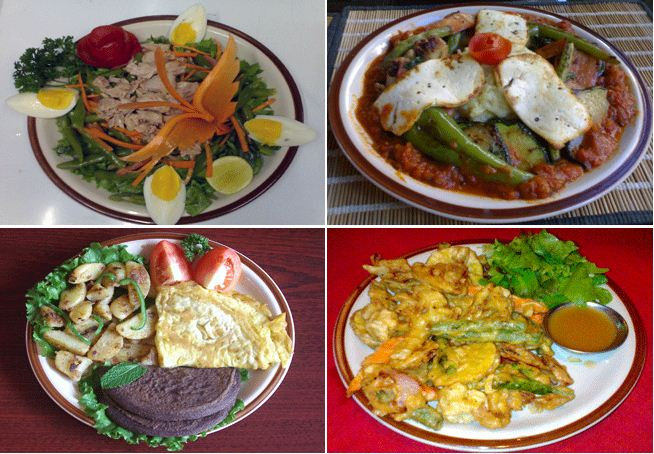The Green Organic Cafe' and Salad Bar   I am Kathmandu