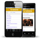Mobile website of kathmandu.im
